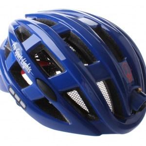 Pro Sport Lights fietshelm met verlichting unisex blauw mt 49-59