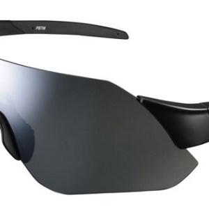 Shimano fietsbril Aerolite Silver Mirror unisex zwart