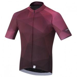 Shimano fietsshirt Breakaway heren paars maat S