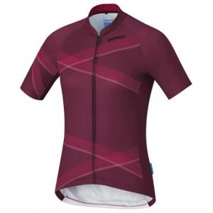Shimano fietsshirt Team Performance dames bordeaux Maat M