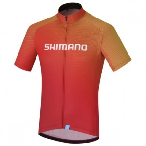Shimano fietsshirt Team Performance heren rood Maat S