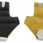 Tour De France fietshandschoenen geel maat 2/3