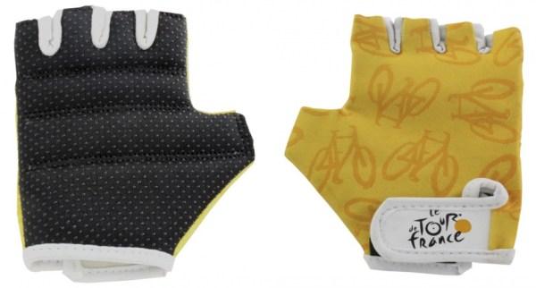 Tour De France fietshandschoenen geel maat 4