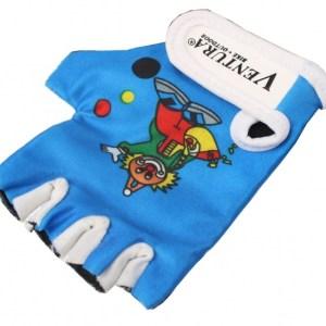 Ventura Fiets Handschoenen Kind Blauw Maat XS
