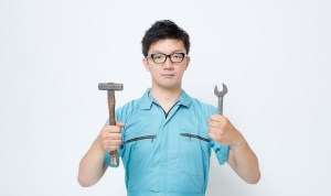 整備士の男