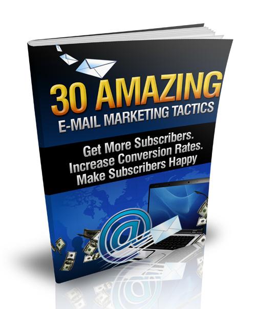 E-Mail Marketing Tactics