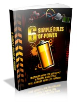 """6 Simple Rules Of Power"