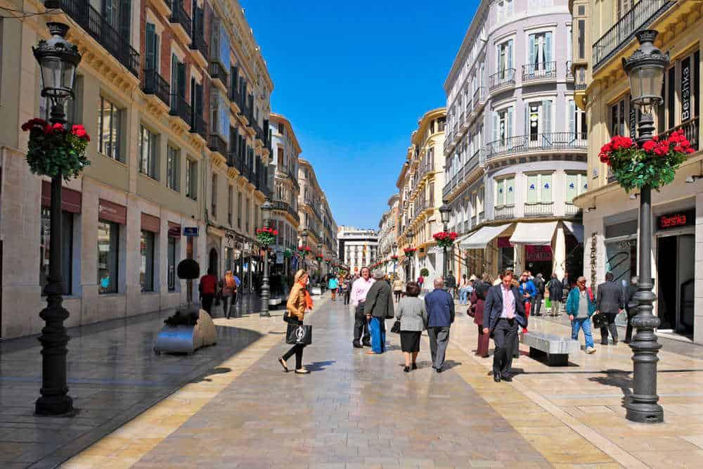 Málaga město