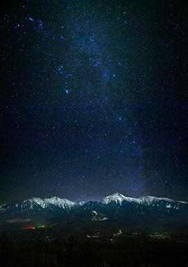 清里の星空