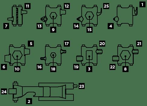 Leatherman - TREAD(Tools)