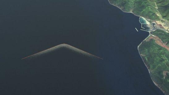 Ocean Cleanup - 対馬近海に設置の予定