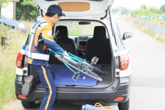 au損保の自転車向けロードサービスを特集した記事