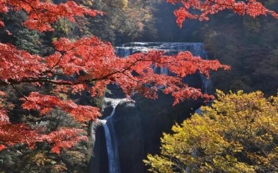 袋田の滝と竜神大吊橋、花貫渓谷