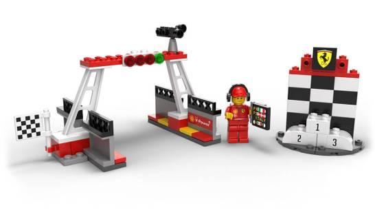 フィニッシュライン&表彰台 - Shell V-Power LEGO®コレクション