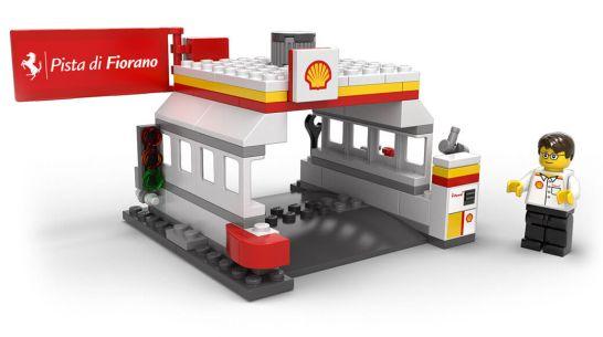 シェルのサービスステーションとLEGOフィギュア - Shell V-Power LEGO®コレクション