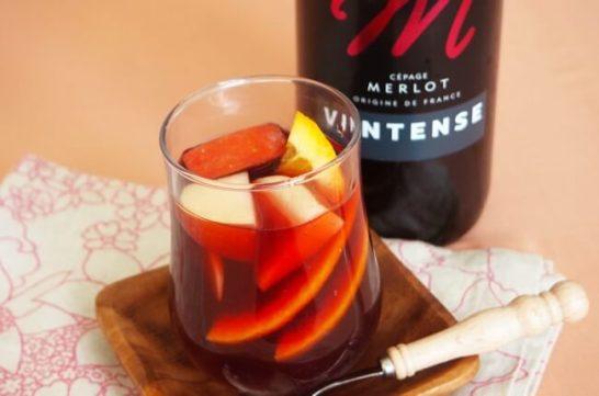 ンアルコールワインで作るホットワイン