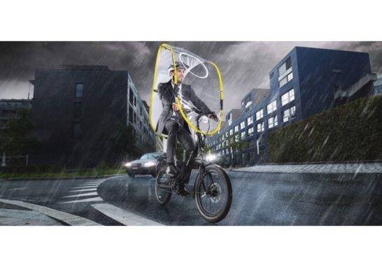 自転車専用、雨よけシールド dryve (ドライブ)