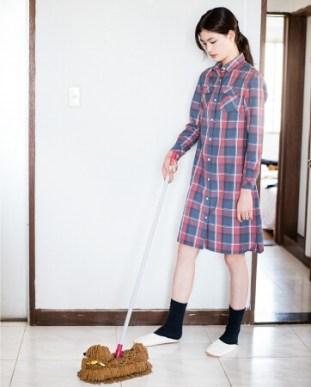 掃除が散歩気分 モップ犬みたいなモップの会
