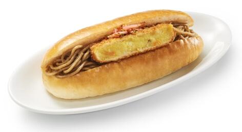 箱根そばコロッケパン