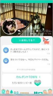 マイルームの画面イメージ