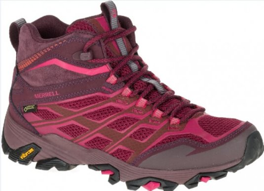 MOAB FST MID GORE-TEX(R)_Beet Red