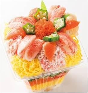 〈札幌かに家〉 花火ちらし寿司