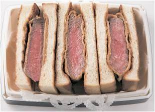 〈西洋銀座〉シャトーブリアンのカツレツサンドイッチ