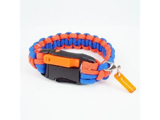 #beORANGEミサンガ - オレンジ x ブルー