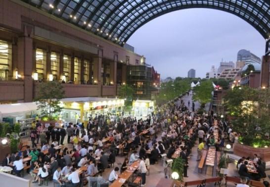 恵比寿麦酒祭り(昨年開催の様子)