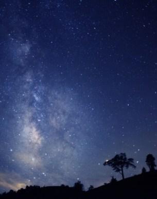 【1位:伊那・飯田・駒ヶ根・昼神】阿智村の星空(阿智☆昼神観光局提供)