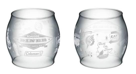 オリジナルデザインのガラスグローブ