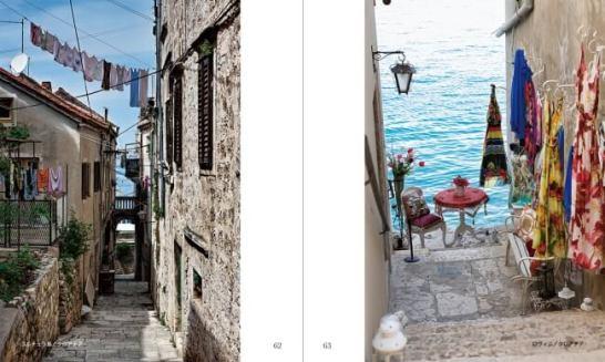 (左)コルチュラ島/クロアチア、(右)ロヴィニ/クロアチア
