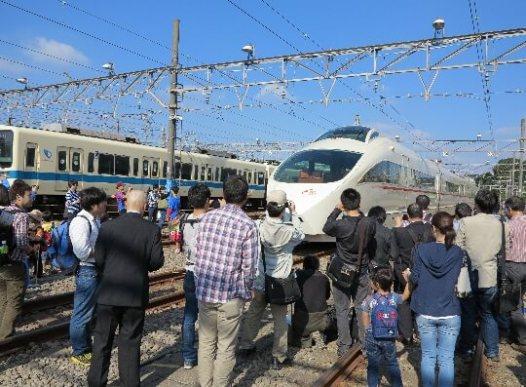 小田急ファミリー鉄道展 2016