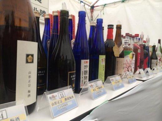 日本全国100蔵170種以上の梅酒を飲み比べできます。また、この170種以上の梅酒即売会も同時開催!