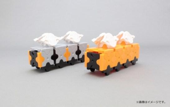 LaQで電車を作ろう!
