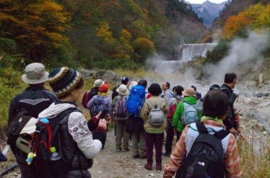 黒部峡谷トレッキング(欅平散策)