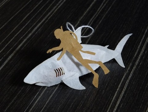 『血みどろサメ』のティーバッグ - ヴィレヴァン通販