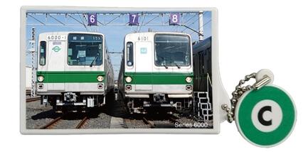 タッチアンドゴー(千代田線6000系並び)