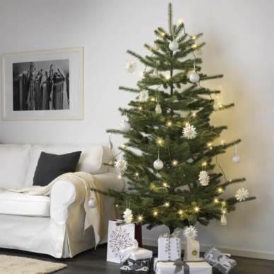 生木のクリスマスツリー - イケア