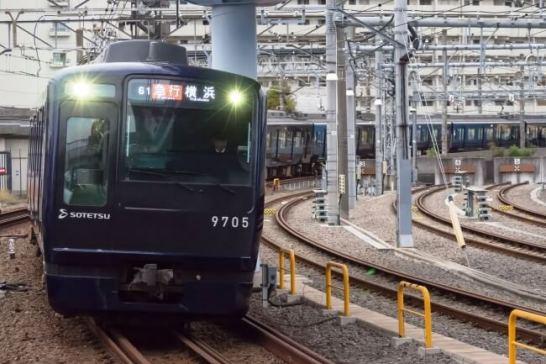 相鉄9000系リニューアル車両