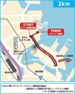 コース - 2Km