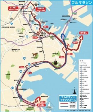 コース - フルマラソン