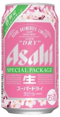2017年『アサヒスーパードライ』30周年!春限定、桜のパッケージ缶発売