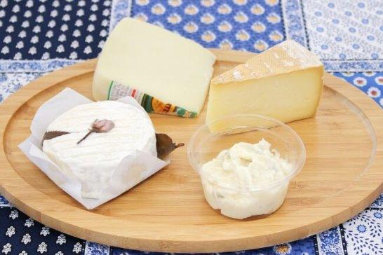 スペイン巡礼地のチーズ(他)