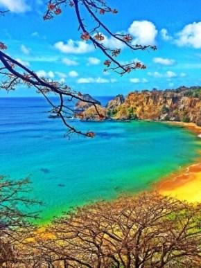 『サンチョ湾ビーチ』(ブラジル)