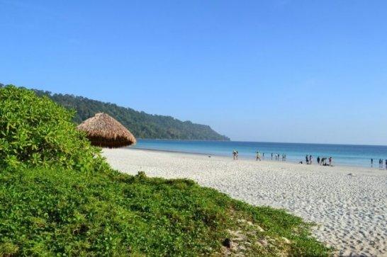 『ラドハンガー ビーチ』(インド)