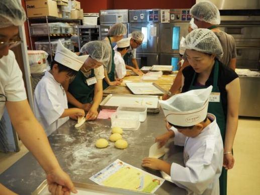 オリジナルパンを作ろう!