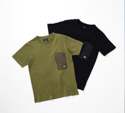 URBAN RESEARCH DOORS別注のポケット付きTシャツ