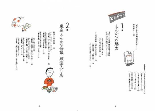 『東京とんかつ会議』(ぴあ)目次