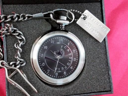 寝台特急カシオペア懐中時計